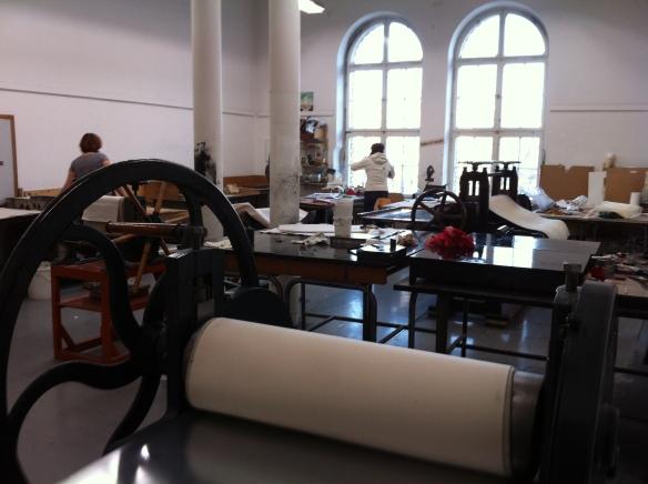 Druckwerkstatt at Bethanien Berlin