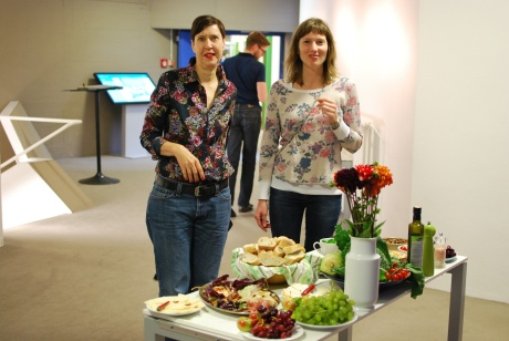 Friends helping with the aperitivi. Photo © Paul Pedersen